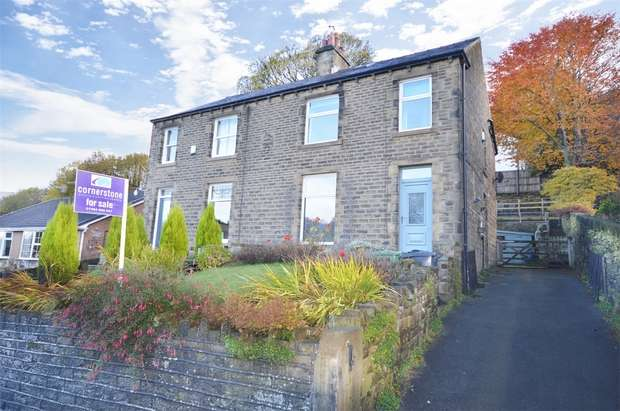 4 Bedrooms Semi Detached House for sale in Dunford Road, HOLMFIRTH, West Yorkshire