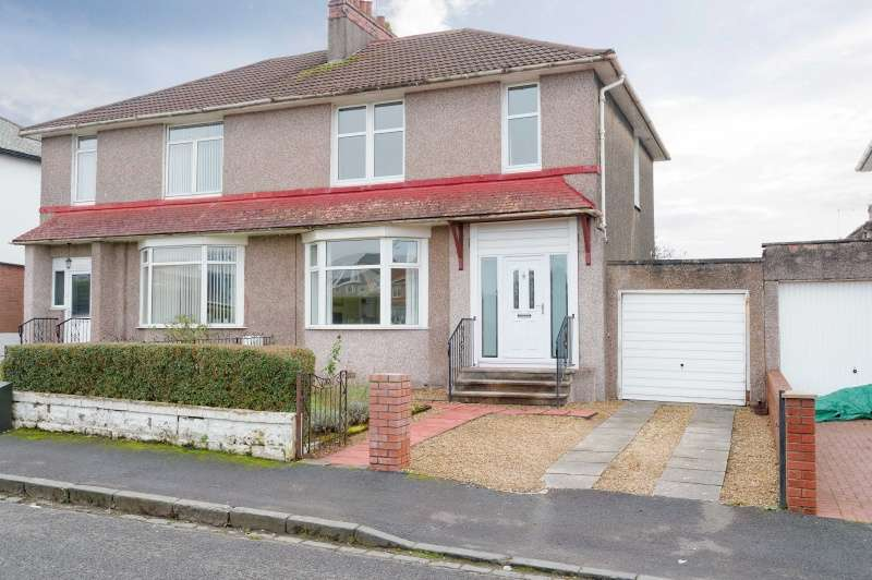 3 Bedrooms Semi Detached House for sale in Kingsbrae Avenue, Kings Park, Glasgow, G44 4QU