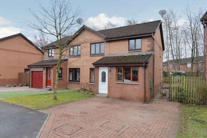 4 Bedrooms Semi Detached House for sale in Foxknowe Place, Livingston, West Lothian, EH54 6TX