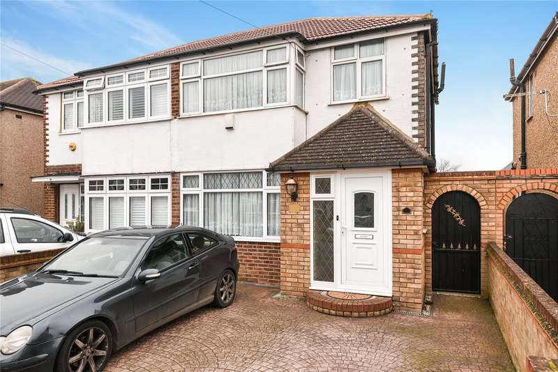 4 Bedrooms Semi Detached House for sale in Fairholme Crescent, Hayes, Middlesex, UB4
