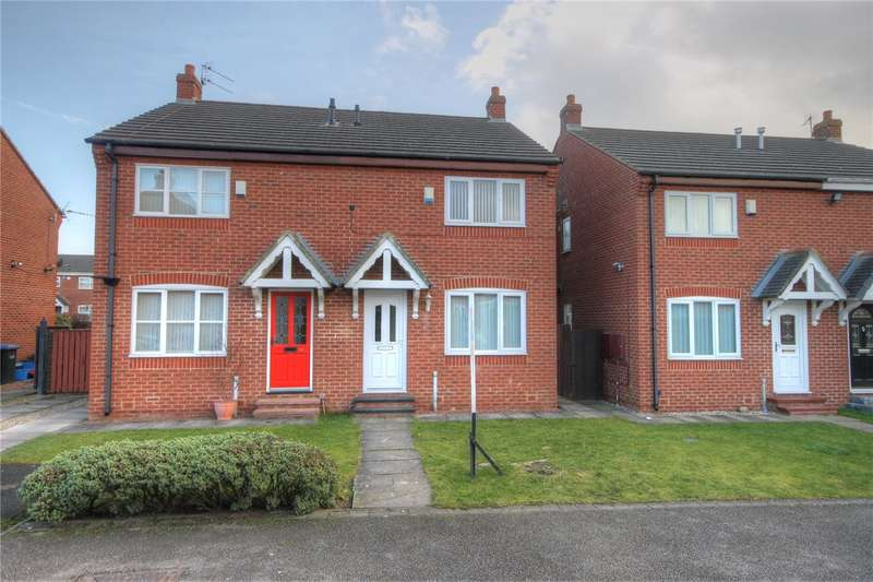 3 Bedrooms Semi Detached House for sale in High Melbourne Street, Bishop Auckland, County Durham, DL14