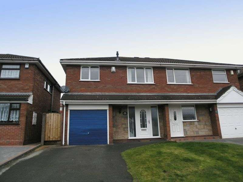 3 Bedrooms Semi Detached House for sale in BRIERLEY HILL, Quarry Bank, Andrews Close