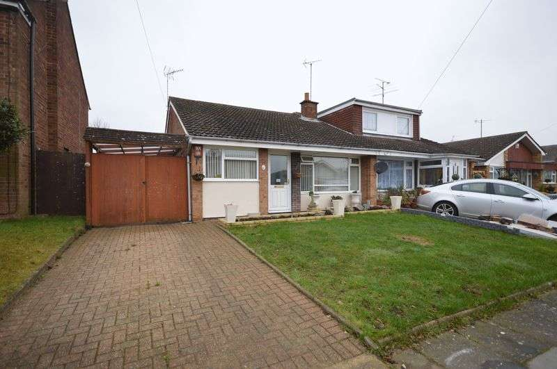 3 Bedrooms Semi Detached Bungalow for sale in Cotefield, Luton