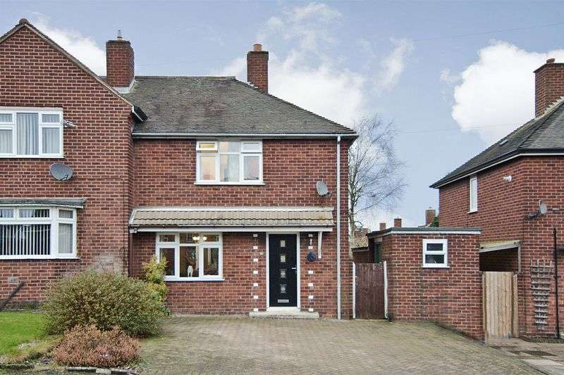 3 Bedrooms Semi Detached House for sale in Albert Street, Cannock