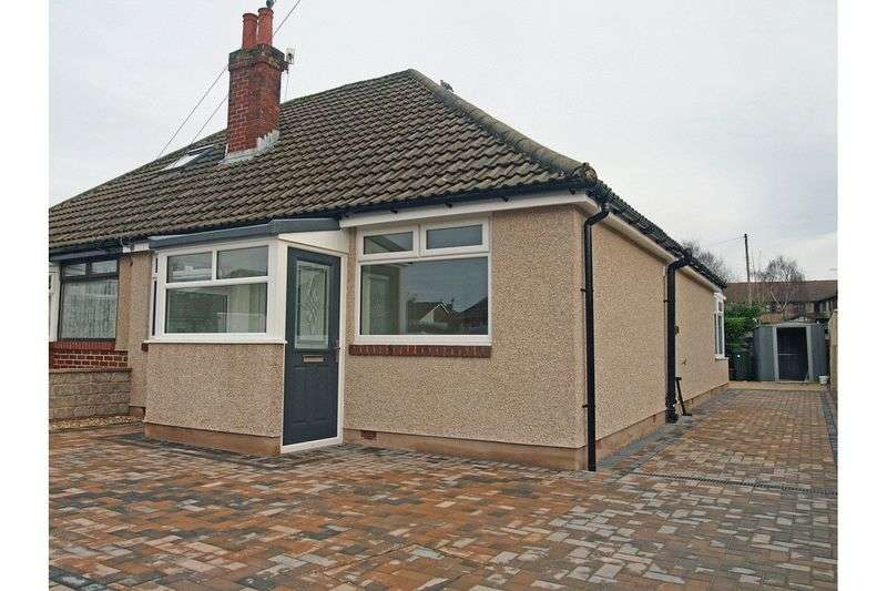 2 Bedrooms Semi Detached Bungalow for sale in Repton Avenue, Morecambe