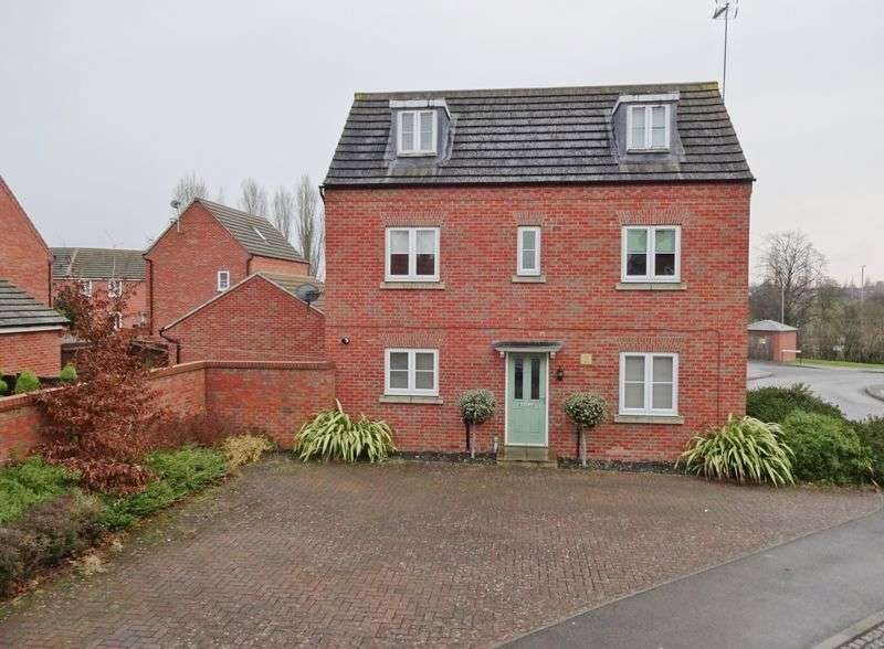 4 Bedrooms Detached House for sale in Pascal Close, Rockingham Park, Corby