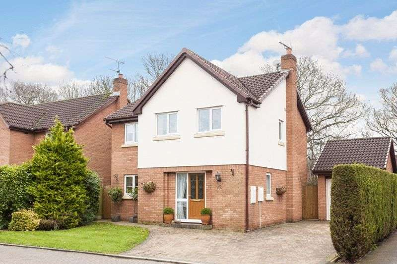 4 Bedrooms Detached House for sale in Barleywood Close, Wistaston