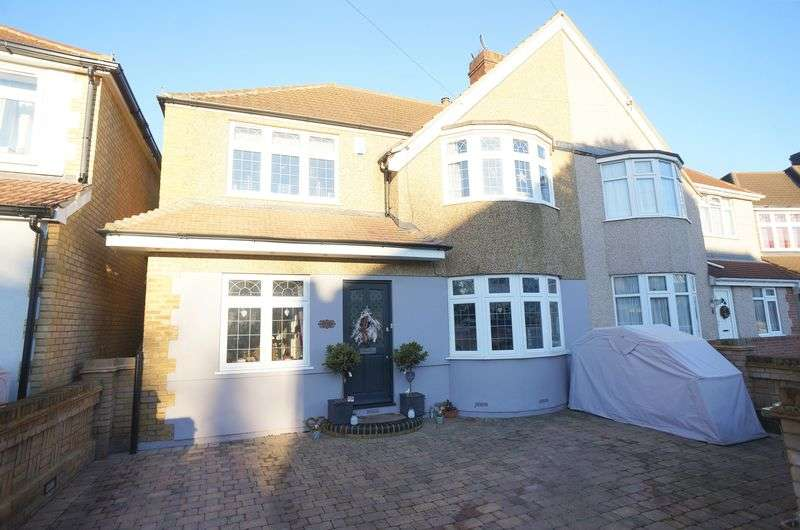 4 Bedrooms Semi Detached House for sale in Oaklands Avenue, Sidcup, DA15 8NB