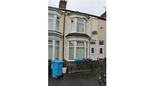 2 Bedrooms Terraced House for sale in Montrose Street, Hull, East Riding of Yorkshire