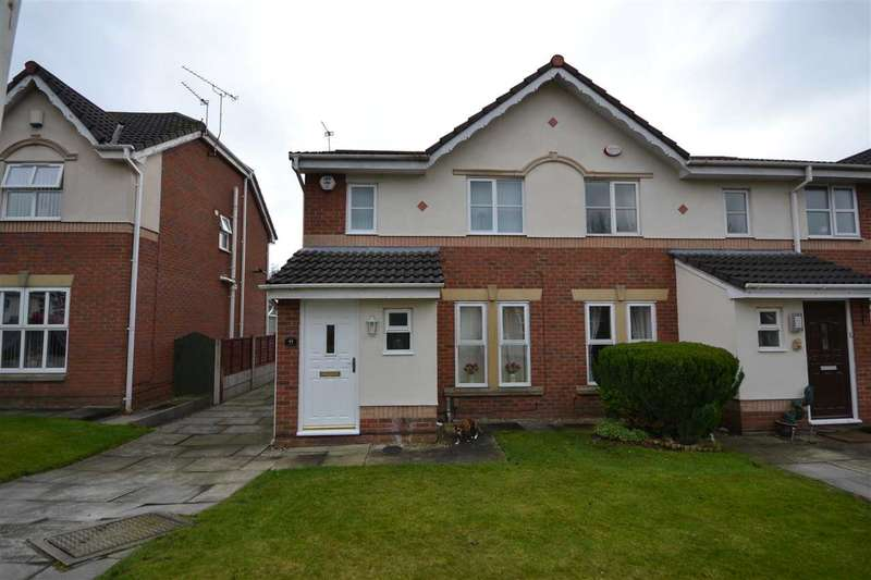 3 Bedrooms Semi Detached House for sale in Bakewell Drive, Beech Hill, Wigan