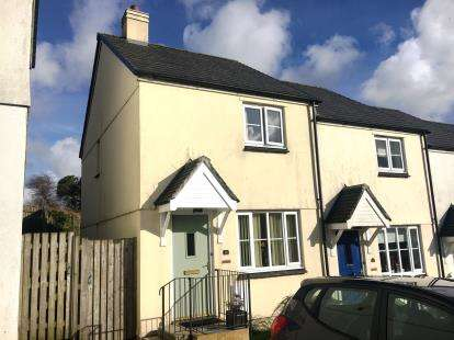 End Of Terrace House for sale in Nanpean, St. Austell, Cornwall