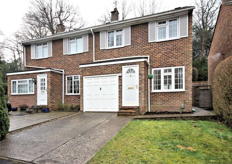 3 Bedrooms Semi Detached House for sale in Martin Way, Woking, Surrey, GU21