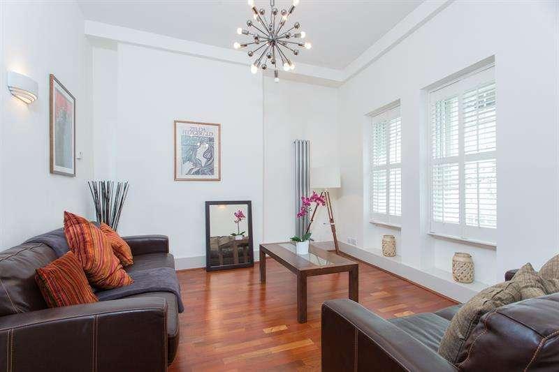 2 Bedrooms Flat for sale in Granville Mansions, Shepherds Bush Green, London, W12