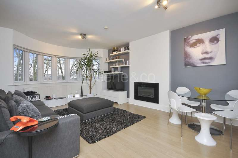 1 Bedroom Flat for sale in Westbere Road, West Hampstead Borders, London, NW2