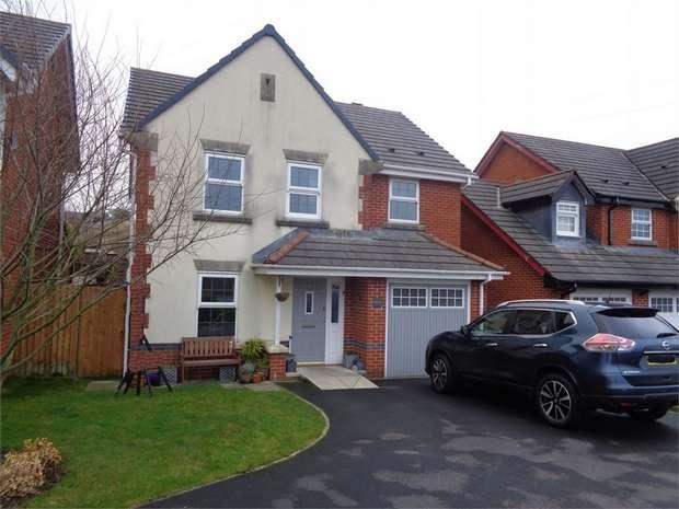 4 Bedrooms Detached House for sale in Honeysuckle Court, Huncoat, Accrington, Lancashire