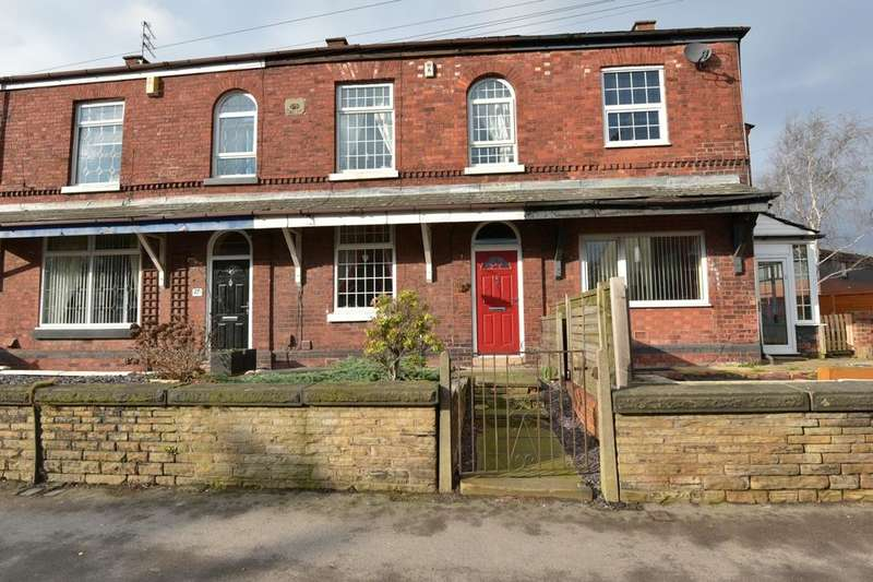 3 Bedrooms Terraced House for sale in Commercial Road, Hazel Grove, Stockport, Cheshire, SK7 4BG