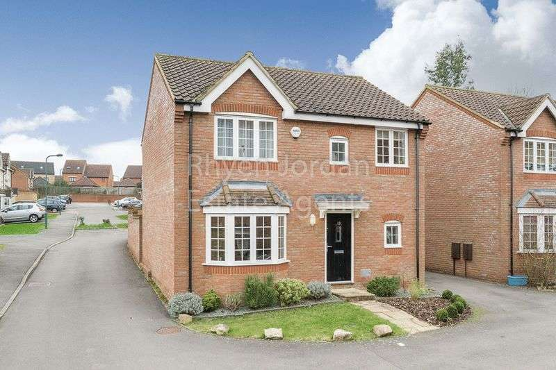 4 Bedrooms Detached House for sale in Clifton Moor, Oakhill, Milton Keynes