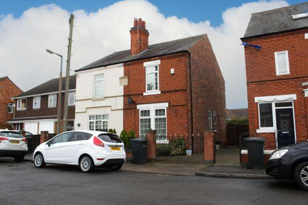 2 Bedrooms Semi Detached House for sale in Roosevelt Avenue, Nottingham, Derbyshire, NG10 3GE