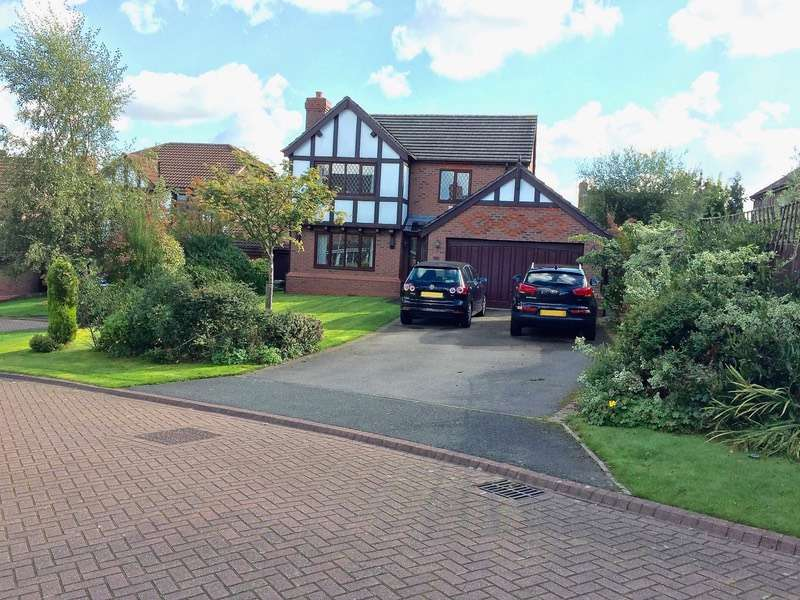 4 Bedrooms Detached House for sale in hatherton close, northwich, Cheshire, CW9