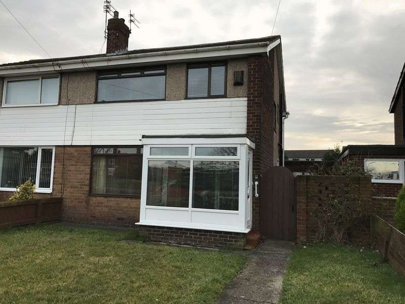 3 Bedrooms Semi Detached House for sale in Campbell Park Road, Hebburn
