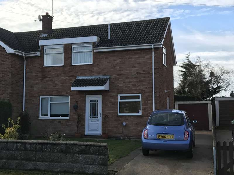 3 Bedrooms Semi Detached House for sale in Newark, Witham Close
