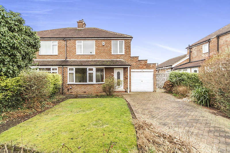 3 Bedrooms Semi Detached House for sale in Highfield Drive, Eaglescliffe, Stockton-On-Tees, TS16