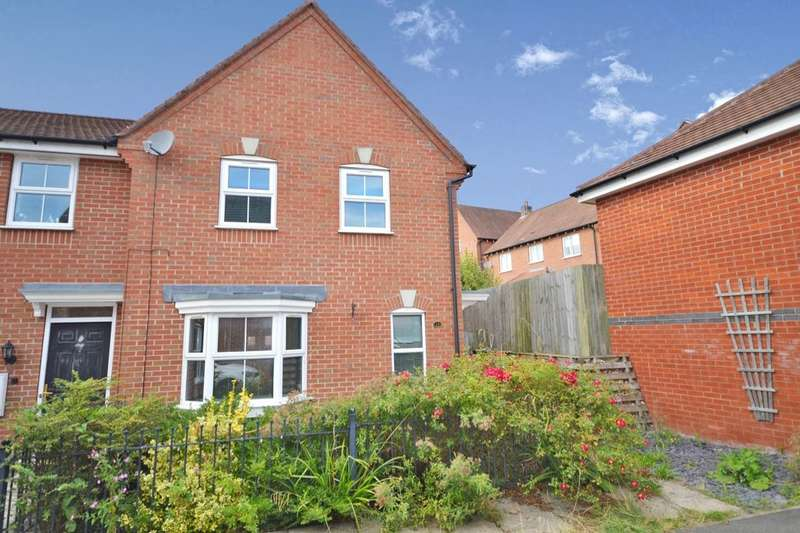 3 Bedrooms Semi Detached House for sale in Anglia Drive, Church Gresley, Swadlincote, DE11