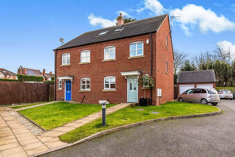 4 Bedrooms Semi Detached House for sale in Brooks Close, Donisthorpe, Swadlincote, DE12
