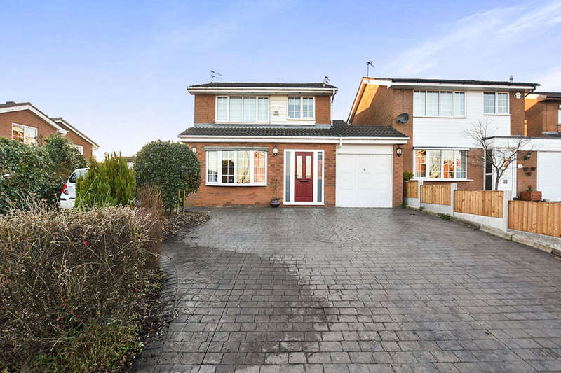 3 Bedrooms Detached House for sale in Clough Meadow Road, Radcliffe, Manchester, M26