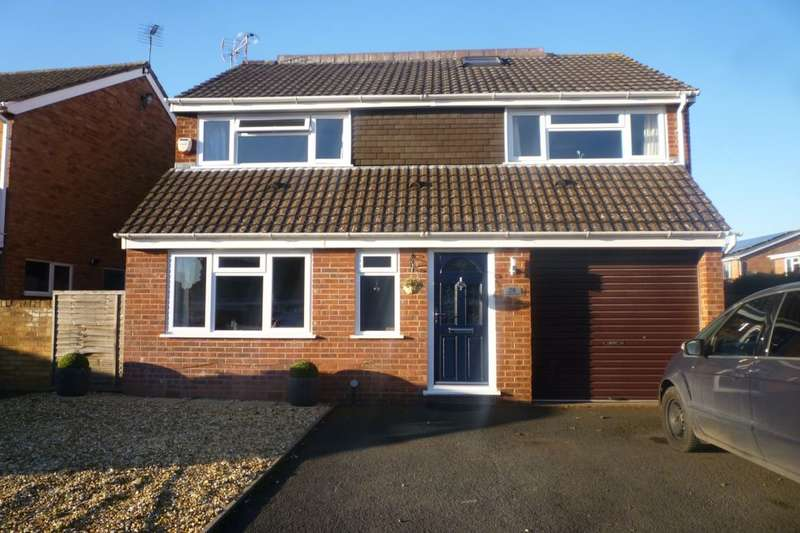 5 Bedrooms Detached House for sale in Oakfield Road, Shifnal, TF11