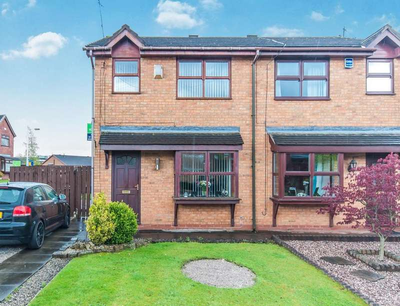 3 Bedrooms Semi Detached House for sale in Briony Close, Royton, Oldham, OL2
