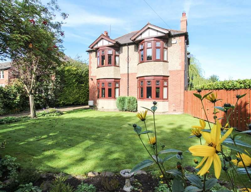 4 Bedrooms Detached House for sale in Castle View, Ovingham, Prudhoe, NE42