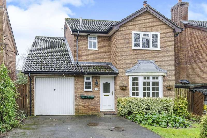 4 Bedrooms Detached House for sale in Frampton Way, Kings Worthy, Winchester, SO23
