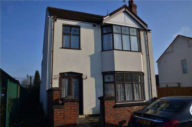 3 Bedrooms Detached House for sale in Stoney Stanton Road, Foleshill, Coventry, West Midlands