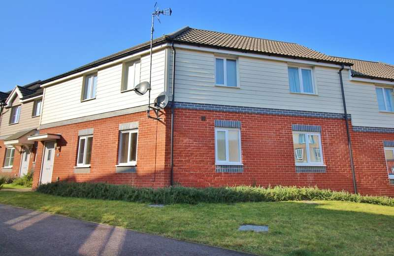 2 Bedrooms Flat for sale in Redpoll Road, Costessey