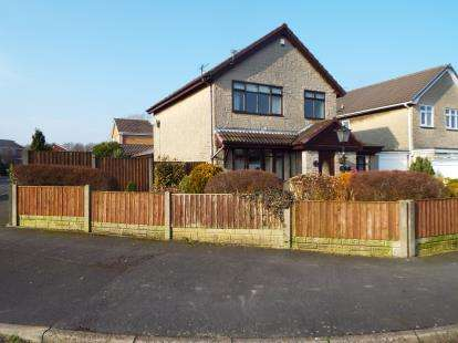 3 Bedrooms Link Detached House for sale in Springfield Road, Coppull, Chorley, Lancashire