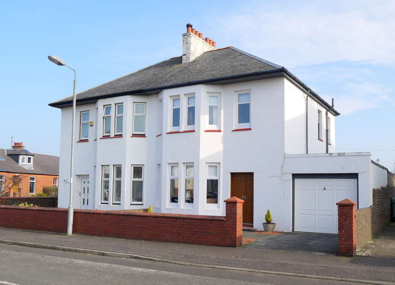 4 Bedrooms Semi Detached House for sale in Maryborough Avenue, Prestwick, KA9