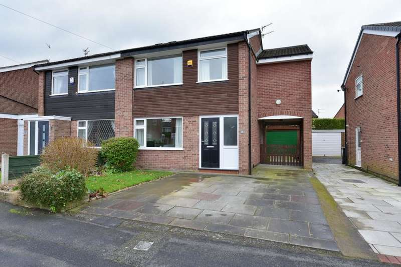 4 Bedrooms Semi Detached House for sale in Fielding Avenue, Poynton, Stockport, Cheshire, SK12 1YX
