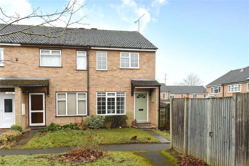 2 Bedrooms End Of Terrace House for sale in Tiverton Way, Frimley, Camberley, Surrey, GU16