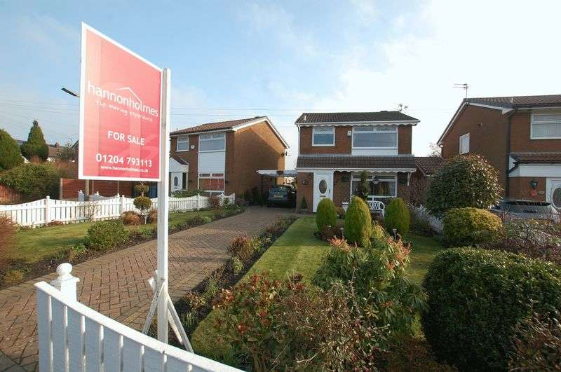 3 Bedrooms Detached House for sale in Rush Acre Close, Manchester