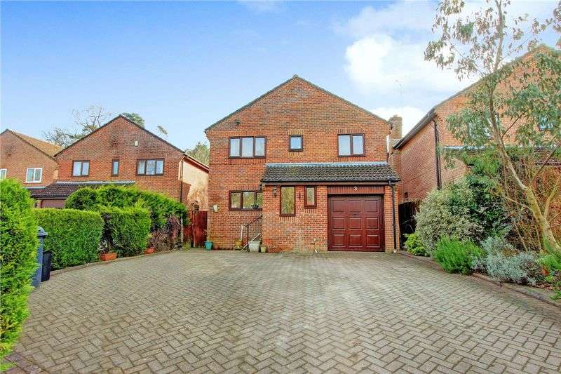4 Bedrooms Detached House for sale in Hestia Close, Halterworth, Romsey