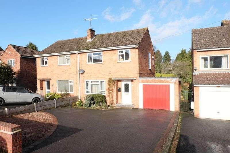 3 Bedrooms Semi Detached House for sale in Holmwood Avenue, Kidderminster DY11 6DA