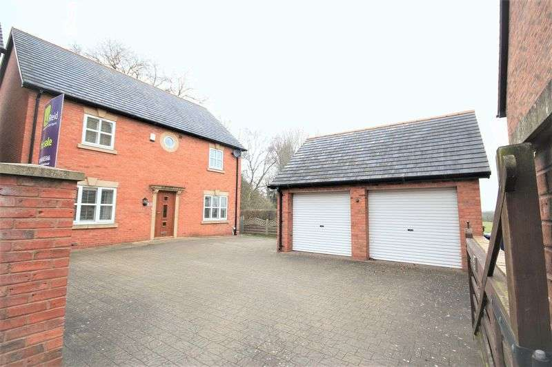 4 Bedrooms Detached House for sale in Chapel Gardens, Penley, Nr Wrexham