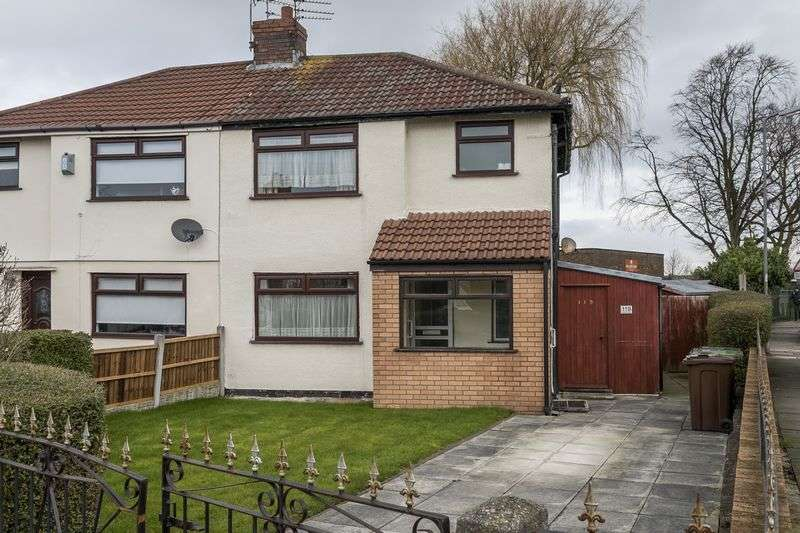 3 Bedrooms Semi Detached House for sale in Moorland Road, Maghull