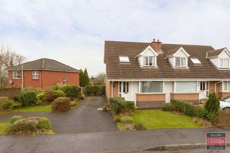 3 Bedrooms Semi Detached House for sale in 6 Greenwood Glen, Belfast, BT8 7WE
