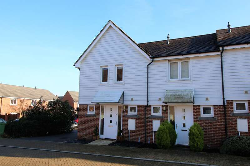 3 Bedrooms End Of Terrace House for sale in Merryweather Way, Marnel Park, Basingstoke, RG24