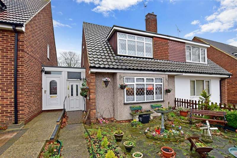 3 Bedrooms Semi Detached House for sale in Woolwich Road, Upper Belvedere, Kent