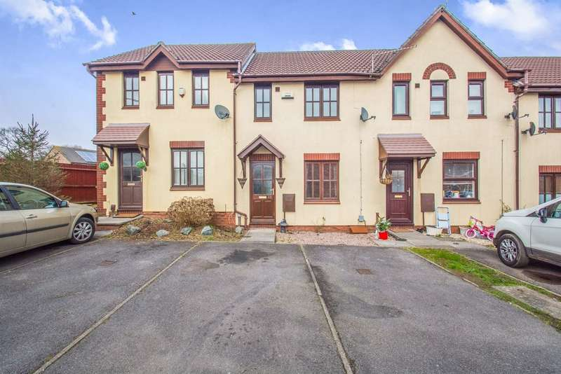 2 Bedrooms Terraced House for sale in Kember Close, St. Mellons, Cardiff