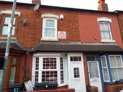 3 Bedrooms Terraced House for sale in Cyril Road, Birmingham, West Midlands