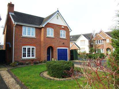 4 Bedrooms Detached House for sale in Long Lane, Coalville, Leicestershire